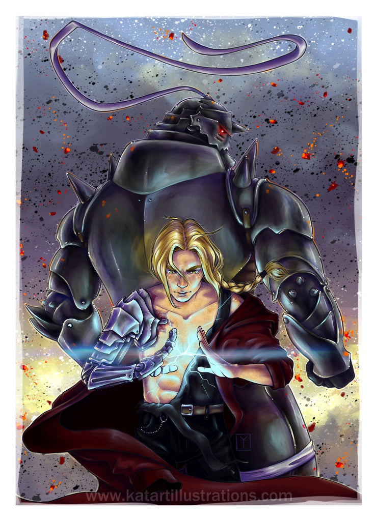 'The Brothers Elric' Art Print