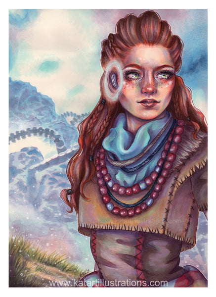 Horizon Zero Dawn A3 (16.5 x 11.7 in) Art Print