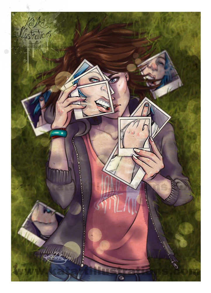 Life Is Strange A3 (16.5 x 11.7 in) Art Print
