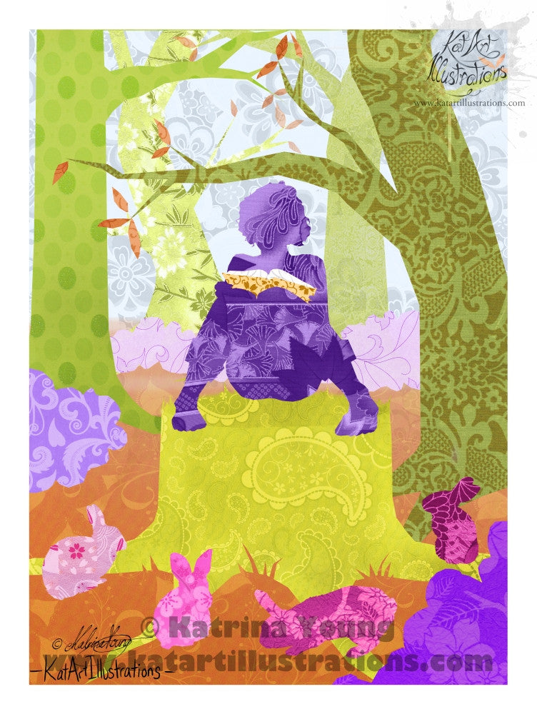 StoryTime A3 (16.5 x 11.7 in) Art Print