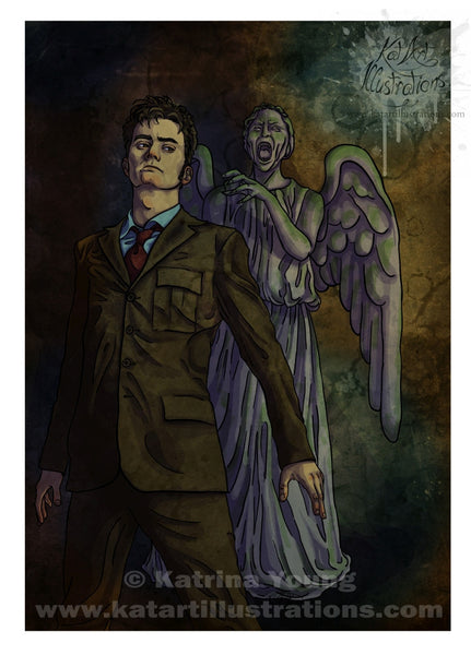 Don't Blink A3 (16.5 x 11.7 in) Art Print - DISCONTINUED