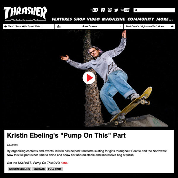 "Kristin Ebeling | ""Pump On This"" video part"