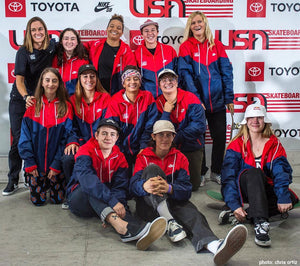 USA Skateboarding 2020 National Team