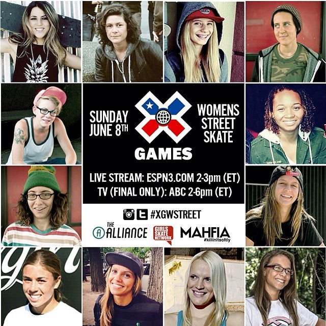 X Games With Lacey & Vanessa