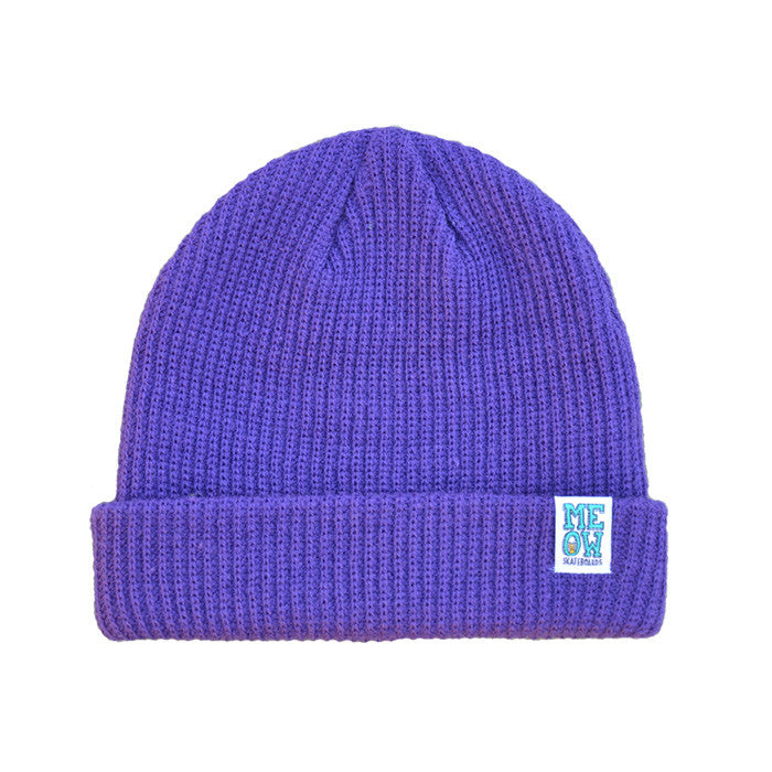 Stacked Dock Beanie [Purple]