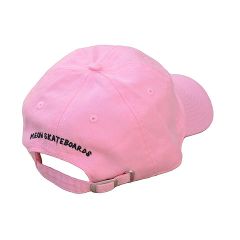 Meow Unstructured Hat [Pink]
