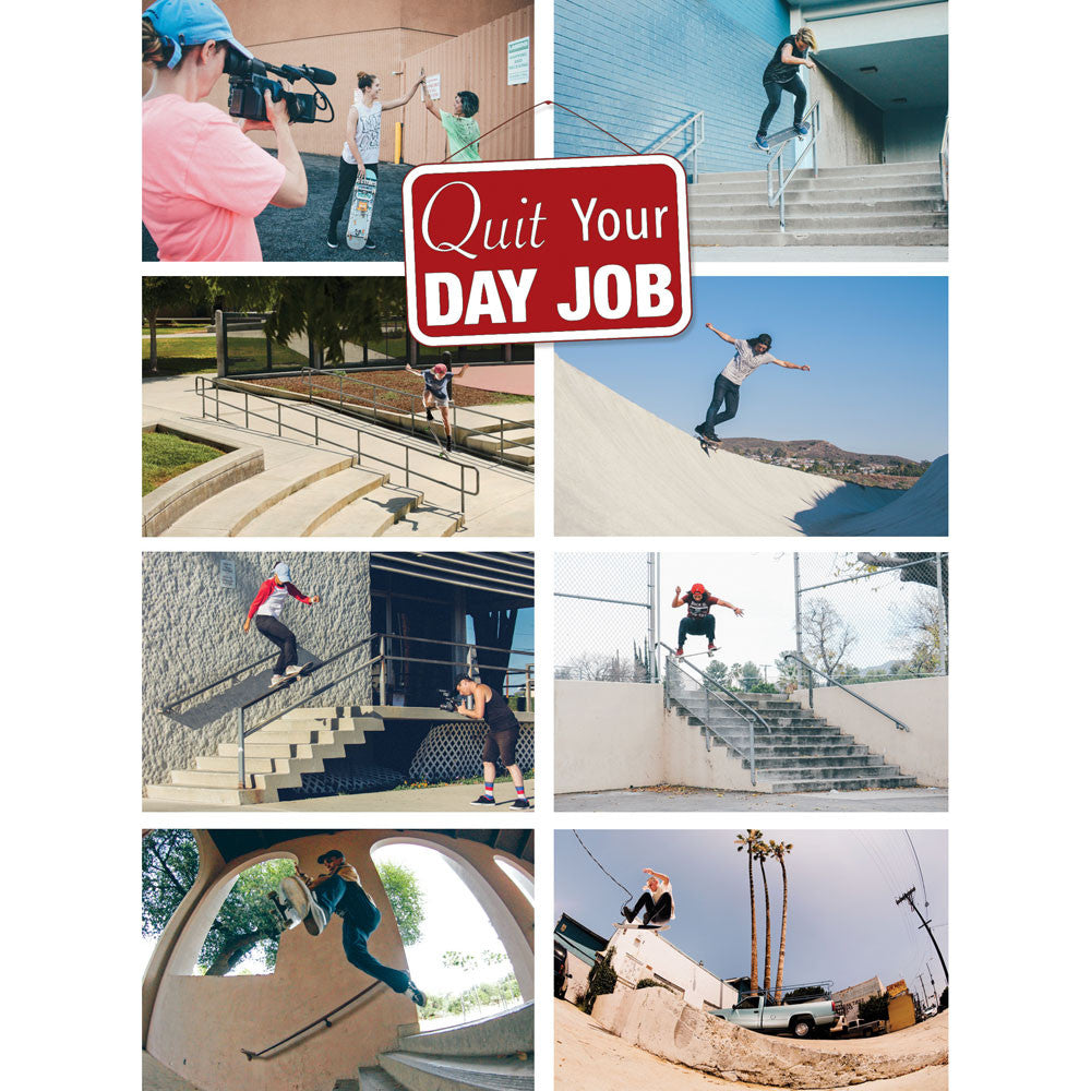 quit your day job dvd an all female skateboard film meow quit your day job dvd