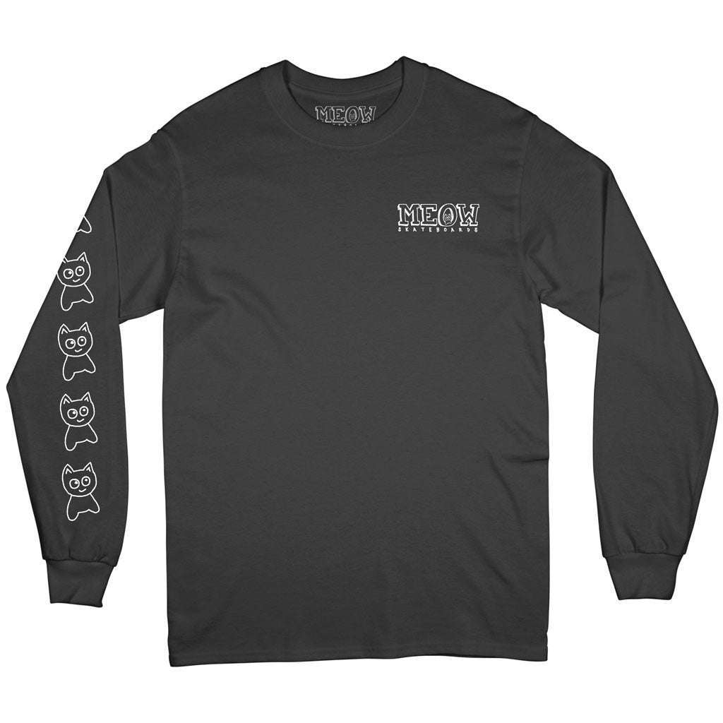 Big Cat L/S Tee [Black]