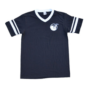 Cat Snax V-Neck Jersey [Black]