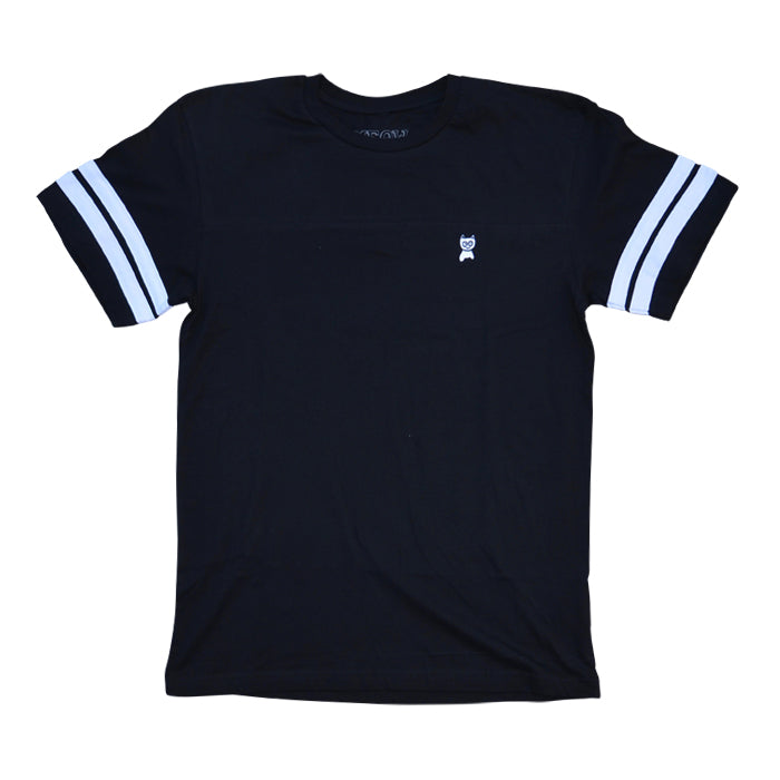 Embroidered Jersey [Black]