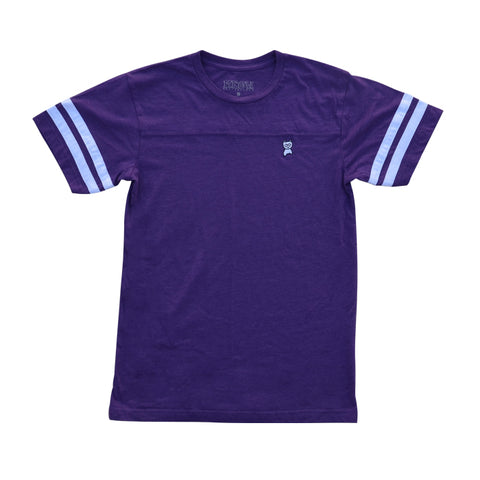 Embroidered Jersey [Purple]
