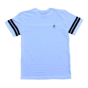 Embroidered Jersey [White] X-LARGE
