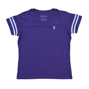 Womens Embroidered Jersey [Purple]