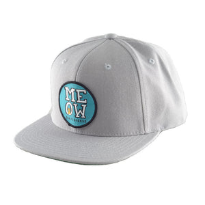 Stacked Snapback Hat [Grey]