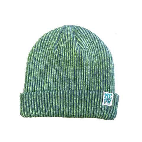 Stacked Dock Beanie [Lime]
