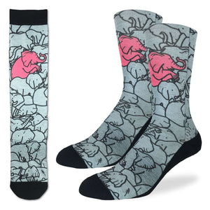 Men's Elephants Moshing Socks