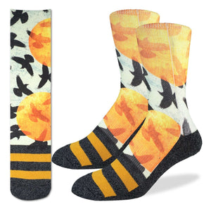 Men's Flock of Birds Socks
