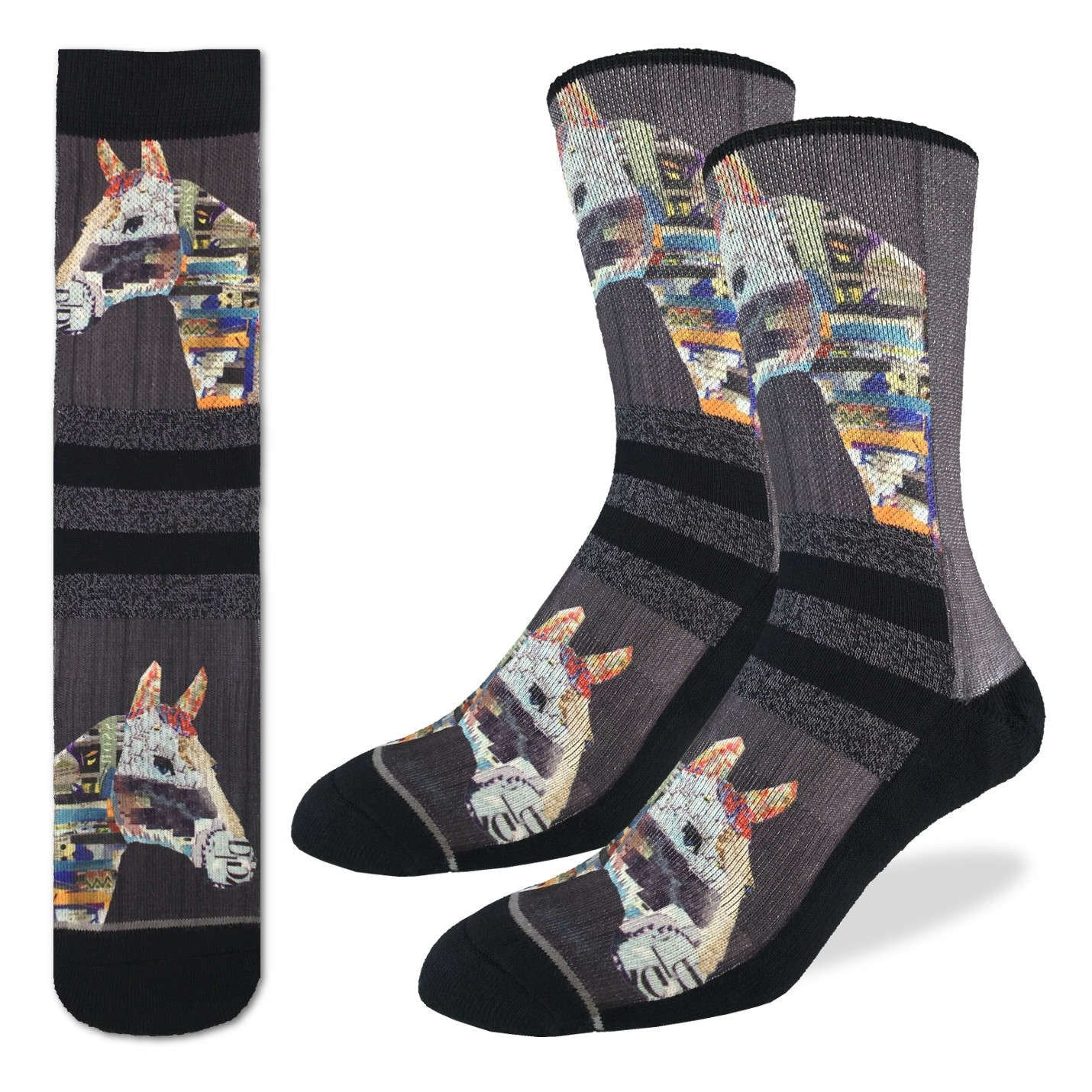 Men's Twin Horses Socks