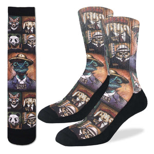 Men's Animal Mugshots Socks