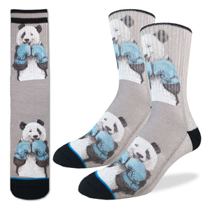 Men's Boxing Pandas Socks
