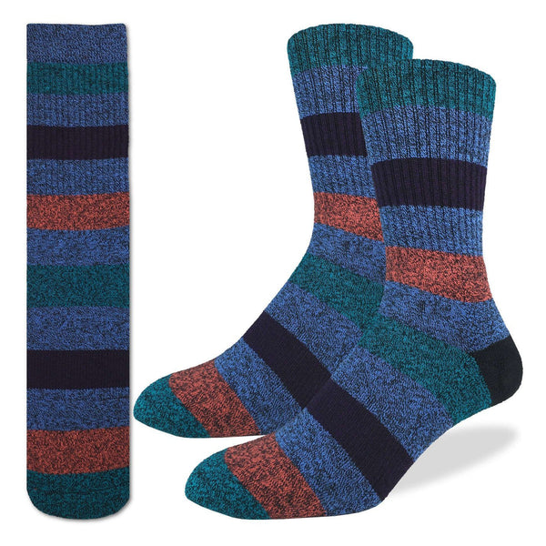 Men's Striped Comfort Socks