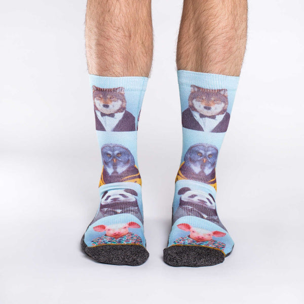 Men's Dapper Animals Socks