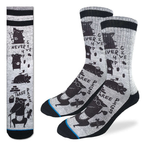 Men's Three Little Pigs Socks