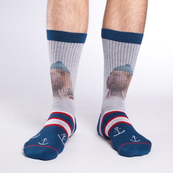 Men's Walrus Sailor Socks