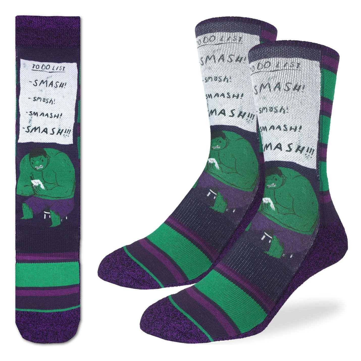 Men's Smash To Do List Socks