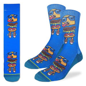 Men's Death by Burger Socks