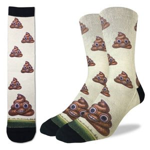 Men's Piles of Poop Socks