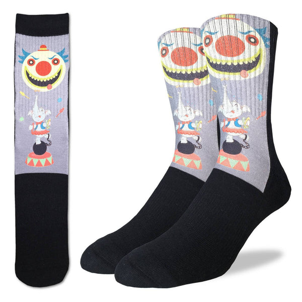 Men's Dancing Circus Elephant Socks