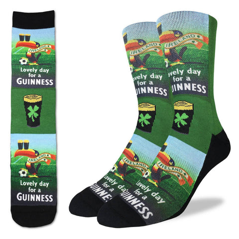 Men's Lovely Day for a Guinness Socks