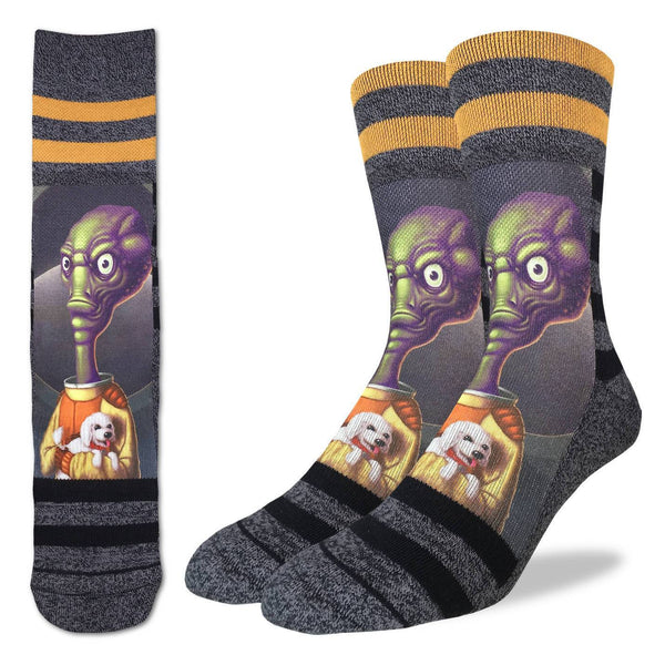 Men's Alien Puppy Love Socks