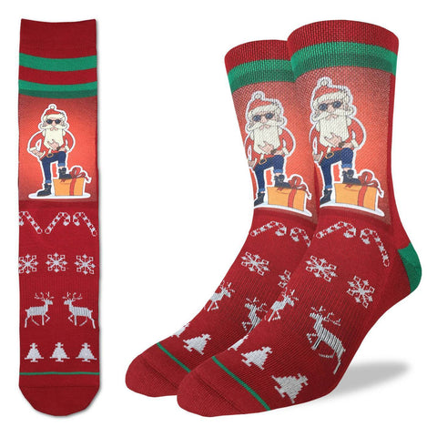 Men's Hip Santa Socks