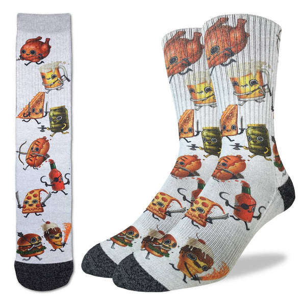 Men's Food Fight Socks