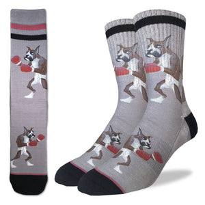 Men's Boxing Boxer Socks