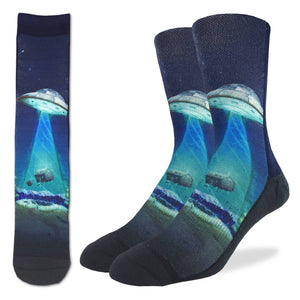 Men's UFO Abduction Socks
