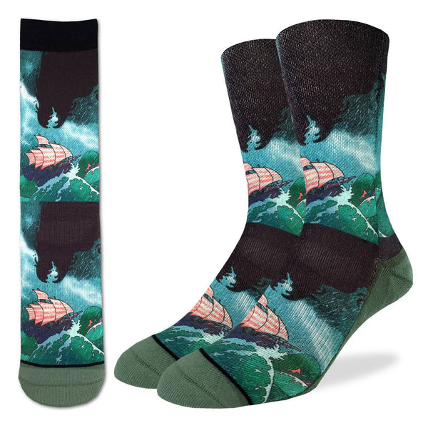 Men's Sea Monster Socks
