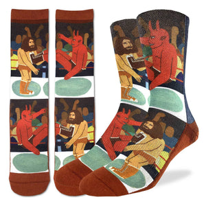 Men's Wrestling Good vs. Evil Socks