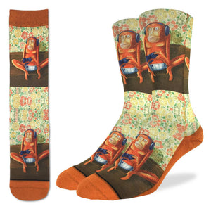 Men's Gaming Monkey Socks