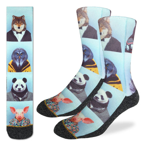 Dapper Animals Socks | Good Luck Sock