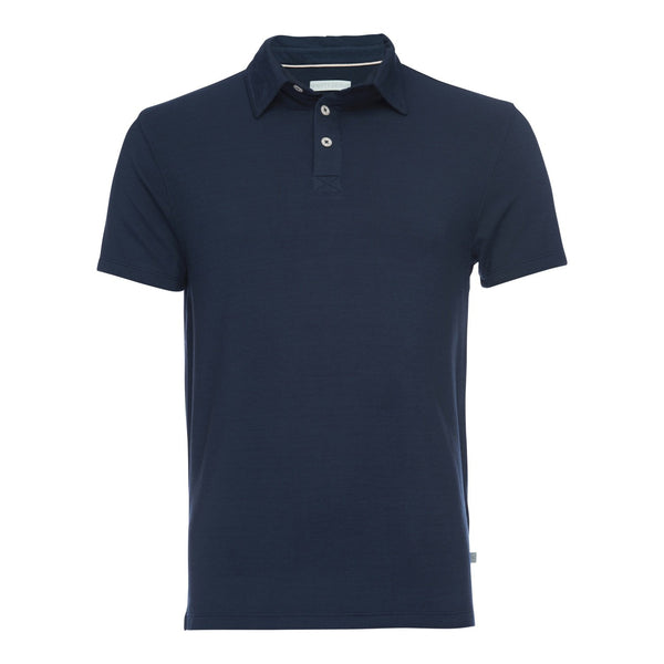 Nicholas Modal One Pocket Polo in Light Blue