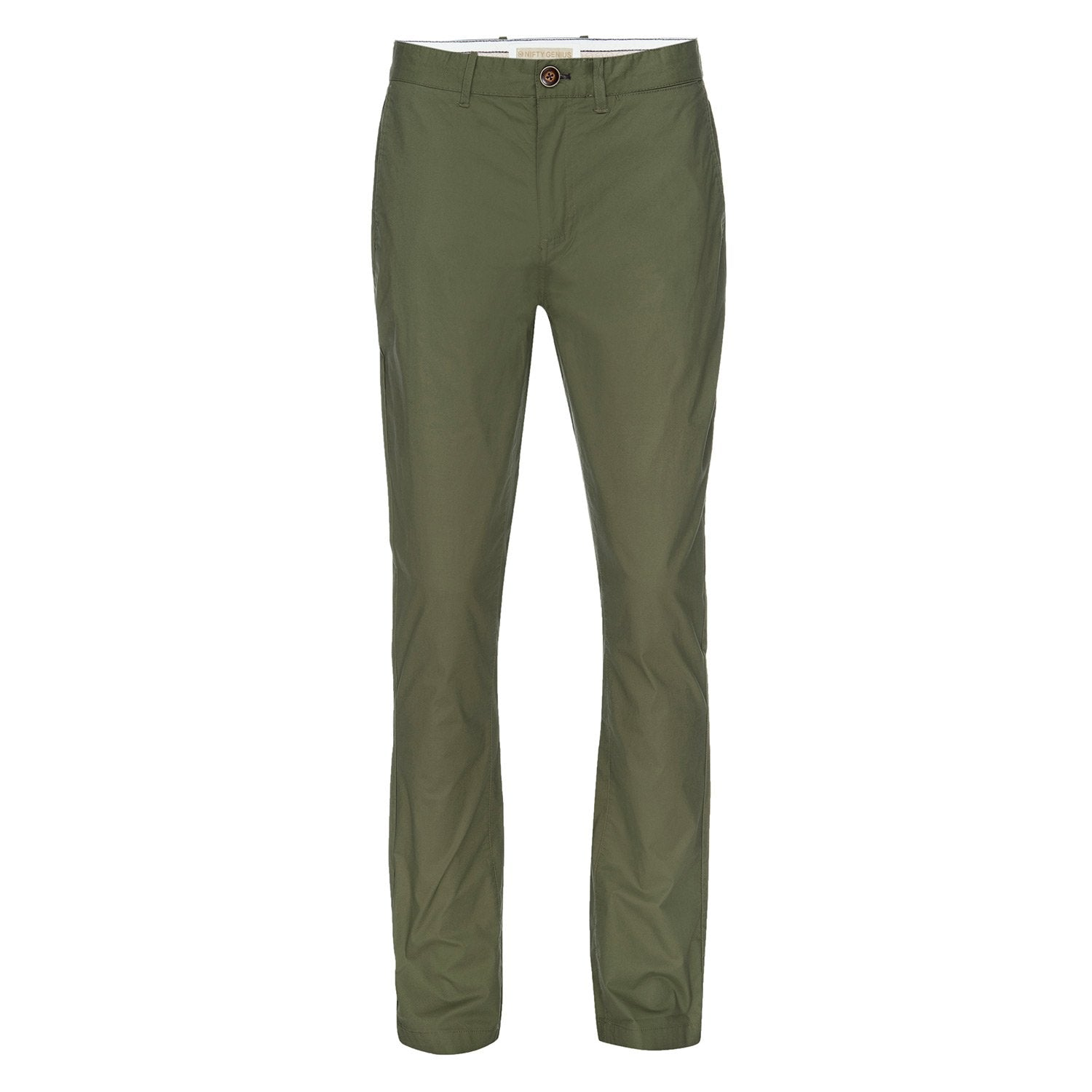 J.P. Stretch Typewriter Cloth Chino in Olive