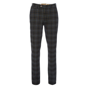 Thomas Stretch Dress Chino in Plaid