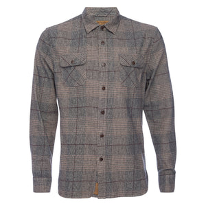 Truman Outdoor Shirt in Oversized Glen Plaid