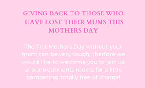 FREE GIVE BACK DAY - This Mother's Day