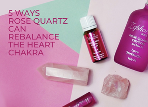 5 Ways Rose Quartz Can Rebalance the Heart Chakra