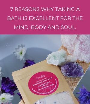 7 Reasons Why Taking a Bath is Excellent for the Mind, Body and Soul.