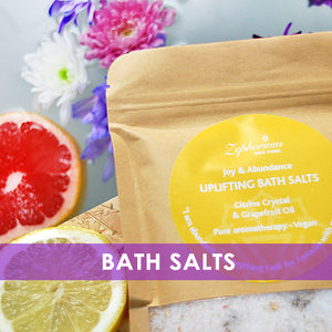 Aromatherapy Bath Salts Vegan